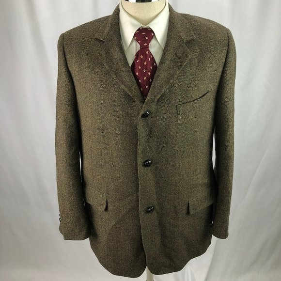 Brooks Brothers Other - Brooks Brothers Men's Brown Wool Blaze 42R